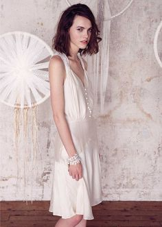 Robe de mariée courte Sessun, collection Oui 2015