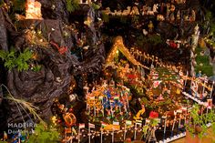"""The Presépio is a typical Madeiran Christmas tradition that is set up starting from 8th of December. It is the Christmas Nativity with all the usual figurines. You will find it in most homes here on Madeira and also in hotels and restaurants.     Location: Restaurant """"Costa Verde"""", Arco da Calheta    Photo by Don Amaro"""