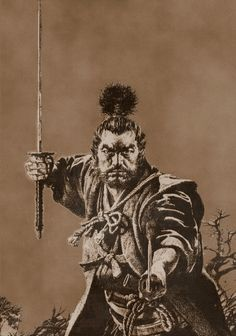 """Master Miyamoto Musashi... """"There is nothing outside of yourself that can ever enable you to get better, stronger, richer, quicker, or smarter. Everything is within. Everything exists. Seek nothing outside of yourself."""" #Japan"""
