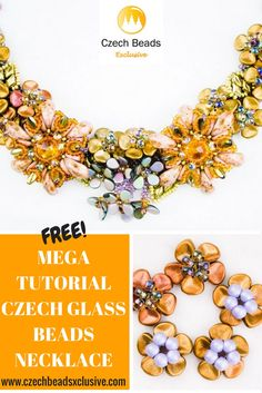 A true gift for you – Mega detailed free beading video tutorial to create a high class Czech Glass Beaded Necklace! Repeat this miraculous design step by step or get inspired to transform it into your own unique patters – all is good and possible with CzechBeadsExclusive.Com #handmadetutorial #gemduo #glassbeads #necklacetutorial #superduo #watchtutorial #diynecklace #teardropbeads #czechbeads #glassbeads ##amazon #etsy #czechbeadsexclusive