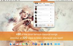Appgeneration, Software Technologies, Lda | Music | iMac | myTuner Classical Pro $0.00 | ver.1.0| $0.00 | ONLY TODAY: $4.99 -> FREEClassical music has been a powerful cultural force for centuries. It is even said that it can improve intelligence, humor, ...