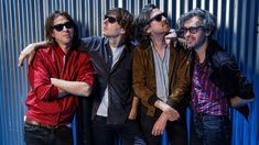 "The French pop-rock sensation Phoenix has a new album, ""Ti Amo,"" and a Hollywood Bowl show. Phoenix Band, French Pop, I'm Still Here, Music Albums, Hollywood, Style Inspiration, Wave, Bands, Deck"