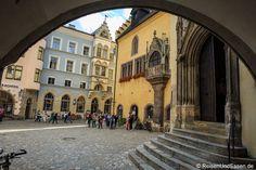 Die Altstadt von #Regensburg gehört zum #UNESCO #Weltkulturerbe. Wir haben einen Rundgang durch die Altstadt unternommen und viele Eindrücke in Bildern festgehalten.