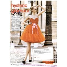 Teen Vogue Editorial Hysteric Glamour, April 2011 Shot #1 - MyFDB ❤ liked on Polyvore featuring editorials and frida gustavsson