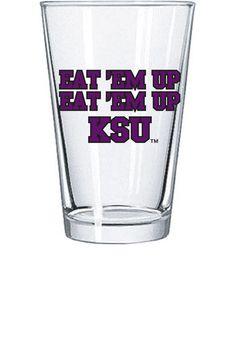 Kansas State Wildcats Eat Em Up KSU Pint Glass  http://www.rallyhouse.com/shop/kstate-wildcats-kansas-state-wildcats-eat-em-up-ksu-pint-glass-1604303  $7.99