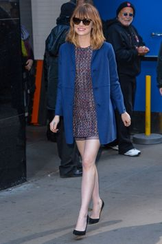 During a Good Morning America taping on April 24, 2014, in New York City.
