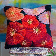 Wild Corn Poppy Midnight - Ehrman Tapestry