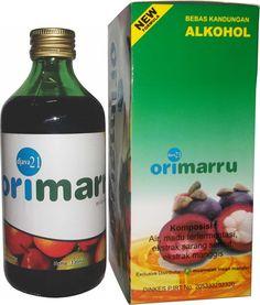 Jus ajaib ORIMARU, kombinasi jus kulit manggis, ekstrak sarang semut, propolis dan madu asli