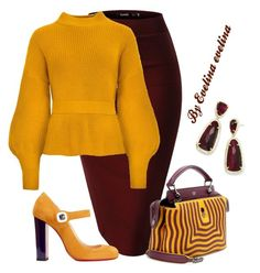 """""""EVE"""" by evelina-er on Polyvore featuring Christian Louboutin, Fendi and Kendra Scott"""