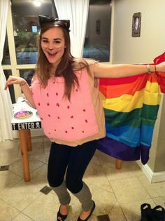 My Nyan Cat Halloween costume!