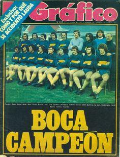 Boca Juniors 1976 - Campeón del Metro