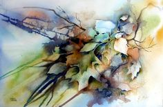 watercolor by Jeanne Rose Cremer