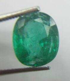 5.26 Carat Green Emerald Oval Precious Unheated Untreated Natural Loose Gemstone…