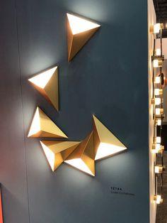 Ideas Modern Art Deco Bathroom Light Fixtures For 2019 Modern Lighting Design, Interior Lighting, Home Lighting, Wall Lighting, Lighting Ideas, Interior Wall Lights, Overhead Lighting, Unique Lighting, Modern Light Fixtures