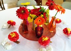 Mexican theme centerpiece