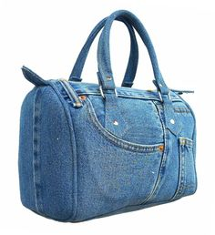This is kinda neat. Upcycling Denim Dr. Bag