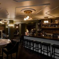 Mayfair Cocktail Bar and Lounge —  open bar on new Year's eve: https://www.eventbrite.ca/e/champagne-secrets-new-years-eve-party-tickets-30051585100?aff=es2  includes snacks $30 ladies, $50 men