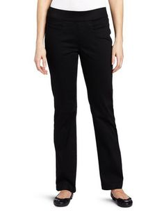 Women's Natural Fit Pull-On Barely-Bootcut Pant