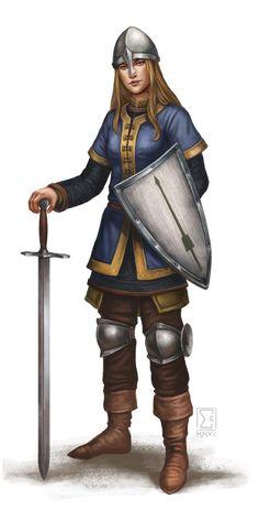 DSA Elenvina-Kriegerin