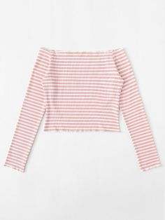 Stripped Off Shoulder Crop TeeFor Women-romwe - Stripped Off Shoulder Crop TeeFor Women-romwe Stripped Off Shoulder Crop TeeFor Women-romwe Source by Preteen Fashion, Girls Fashion Clothes, Teen Fashion Outfits, Girl Fashion, Cute Girl Outfits, Pink Outfits, Cute Summer Outfits, Trendy Outfits, Tube Top Outfits
