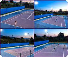 Ένα ακόμα ολοκαίνουργιο γήπεδο διεθνών προδιαγραφών, quick αυτή την φορά, προστίθεται στο δυναμικό του Golden Tennis Club, καλύπτοντας έτσι τις ανάλογες απαιτήσεις του κοινού! Eνα άκομη επιτυχημένο #project καταχωρείται στο #portofolio της G. Karras.  #gkarras #goldentennisclub #patra #peristeri #tennis #industrial_floor Tennis, Sports, Projects, Hs Sports, Log Projects, Blue Prints, Sport