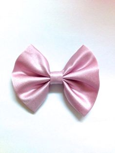 Pink Party Bow size small by SouthernRibbonandBow on Etsy, $4.50