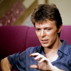 By Philippe Auliac.  Rare color pictures of David Bowie  taken during Heroes promo.