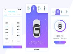 Car Parking App designed by Rupendesign. Connect with them on Dribbble; Mobile App Design, Mobile App Ui, App Ui Design, User Interface Design, App Wireframe, Parking App, Car App, Parking Design, Car Park Design