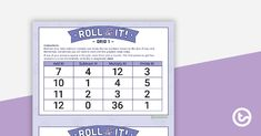 Teaching Resource: Use this fun game to consolidate your students' knowledge of operations. Operation Game, Free Teaching Resources, American English, Social Media Channels, Primary School, Fun Games, Helping Others, Montessori, Rolls