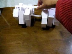 Papercraft Kinetic Sclupture