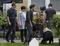 "Colin O'Donoghue, Josh Dallas, Jennifer Morrison and Ginnifer Goodwin - Behind the scenes - 6 * 1 ""The Savior"" - 12th July 2016"