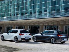 Voici les premières photos officielles de la BMW Série 1 2016 qui est déjà visible en version 3 portes mais egalement en version 5 portes.