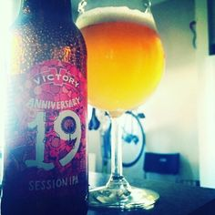 Happy (super belated) Anniversary @victorybeer  #victorybrewing #sessionipa #anniversary #craftbeer
