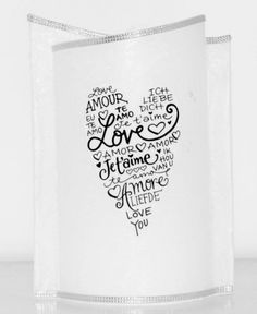 Hochzeitskerze Liebe, Love, Amore Home Decor, Love, Love You, Wedding Day, Candles, Homemade Home Decor, Decoration Home, Interior Decorating