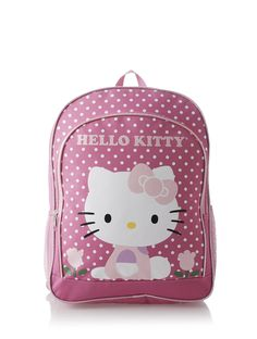 Amazon.co.jp: ハローキティ [Hello Kitty] チューリップとドット柄 バックパック ピンク 【並行輸入品】: 服&ファッション小物