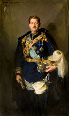 King Carol II of Romania by Phillip de Laszlo, King Painting, Family Painting, Old Portraits, Portrait Art, Portrait Poses, Michael I Of Romania, Romanian Royal Family, Royal Family Portrait, Herzog