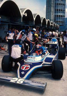 Jean Pierre Jabouille - Ligier Matra - 1981