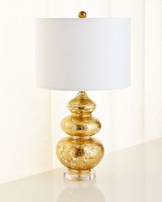 Gold-Leaf+Glass+Table+Lamp+by+Jamie+Young+at+Horchow.