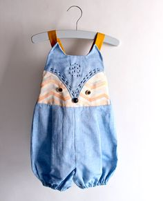 Kid's sewing pattern pdf/Toddler Kid's romper / by hellodearkids