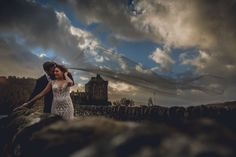 Wedding Photos - Eilean Donan Castle, Scotland, Destination Photographer
