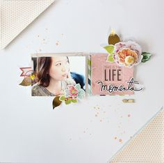 this is the life - Heidi Swapp - September Skies Collection