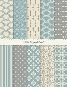 Digital Paper Japanese Style Digital Scrapbook by VNdigitalart  https://www.etsy.com/listing/64734897/digital-paper-japanese-style-digital?ref=shop_home_active_5