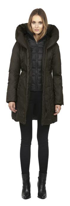 Soïa & Kyo - Parka d'hiver en duvet Camyl F5 disponible en taille TTP - prix régulier 450,00$