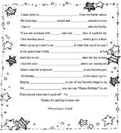 "Star Child: We've been using this all year. Along with it we sing ""I am Like a Star"" and then ""Every Star is Different"""