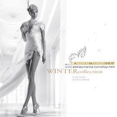 Winter collection in AlekseyMarina Shop. #winter #winterposter #winterpostcards #alekseymarina #newyaer #winterwoman #white #winterpalace #greeting #elegance #lace
