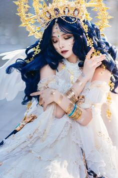 "廣田恵介 on Twitter: ""上記リンクより。… "" Foto Fantasy, Fantasy Dress, Pose Reference Photo, Art Reference Poses, Aesthetic People, Aesthetic Girl, Character Design Inspiration, Mode Inspiration, Fantasy Photography"