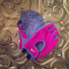 Pink Nike workout gloves Pink Nike workout gloves • NEVER WORN • just looking to sell, no trades. Feel free to make an offer using the offer feature! Nike Other