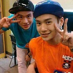 deukie and donny (orange shirt)