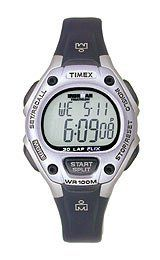 Timex Ironman 30 Lap Mid Size with Flix - Black/Ice Mid Size Timex. $35.00. 30-lap memory recall. All-day-white reflector display. Top pusher for easy lap/split. FLIX System: hands free INDIGLO night-light. 99-lap counter. Save 30%!