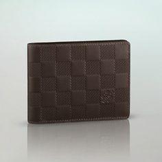 ルイ・ヴィトンスーパーコピー ダミエ・アンフィニ ポルトフォイユ・ミュルティプル 二つ折り財布N63125